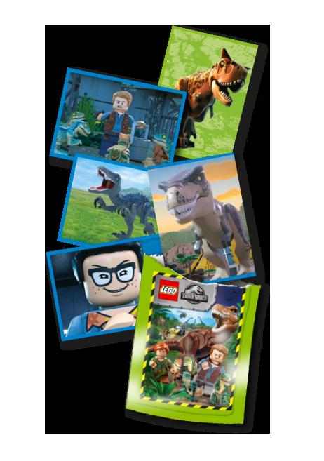LEGO® Jurassic World™ Cromos