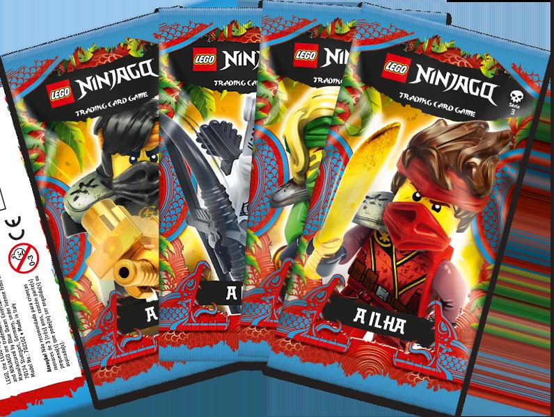 saquetas conjunto Ninjago