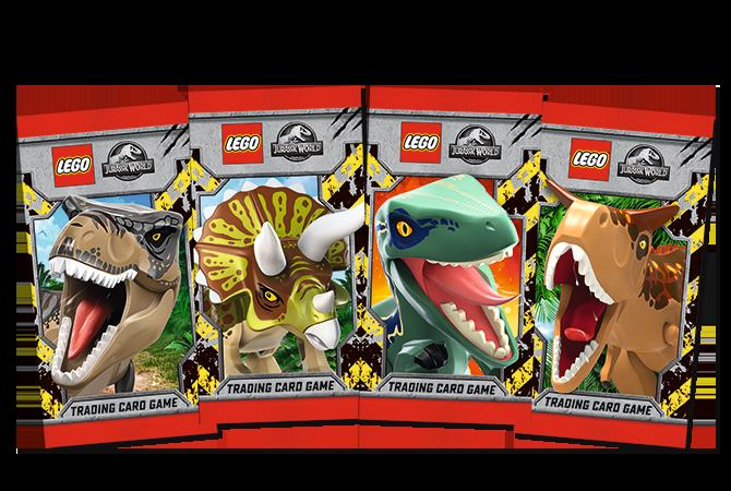 LEGO® Jurassic World™ TCG Saquetas