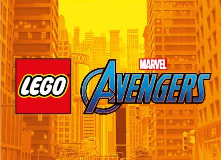 LEGO® Marvel Avengers Logo Fundo