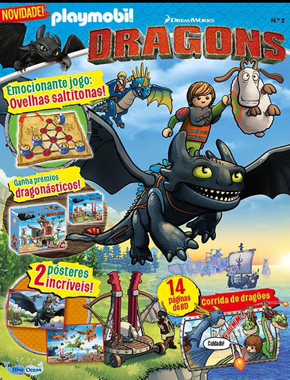 Playmobil Dragons Capa