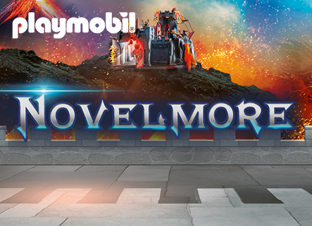 PLAYMOBIL Novelmore Logo Fundo